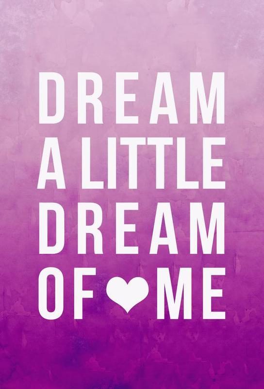 Dream Pink -Acrylglasbild
