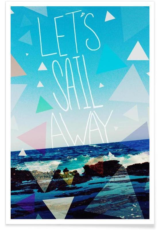 Citations et slogans, Voyages, Let's Sail Away affiche