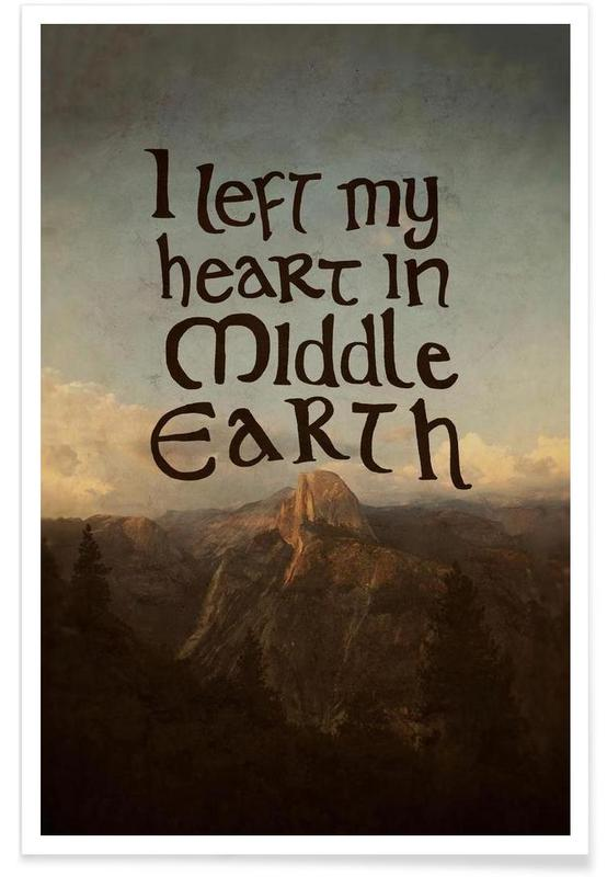 Middle Earth -Poster