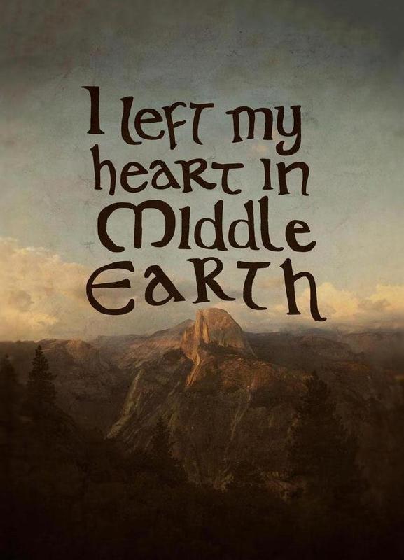 Middle Earth -Leinwandbild