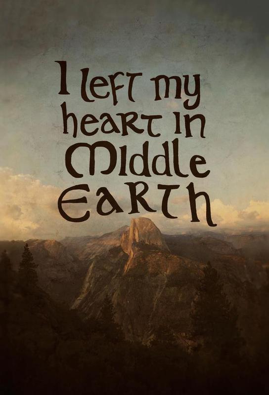 Middle Earth Acrylic Print