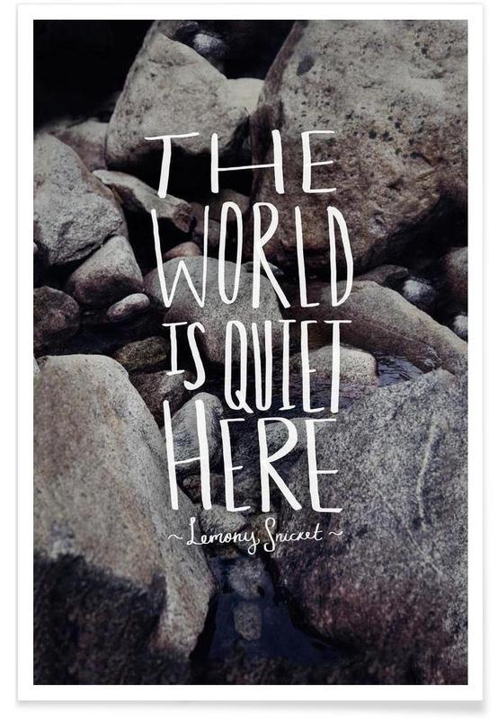 Quiet -Poster