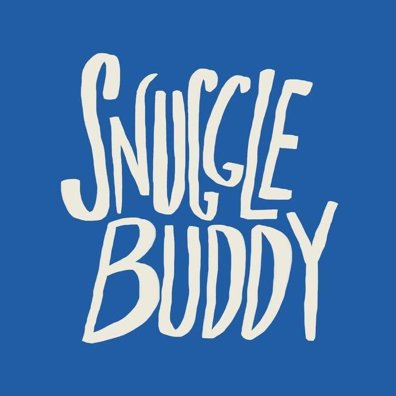 Snuggle Buddy - Blue canvas doek