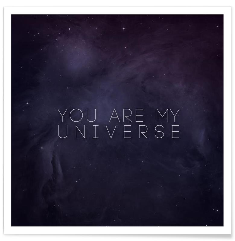 Citations et slogans, Universe affiche