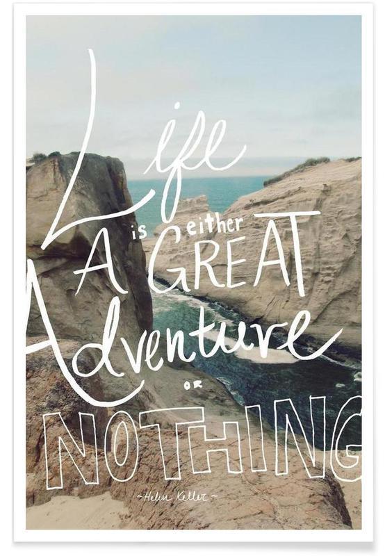 Motivation, Citations et slogans, Great Adventure affiche
