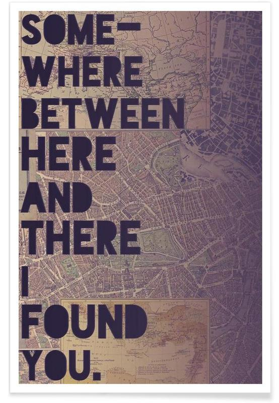 Here and There affiche