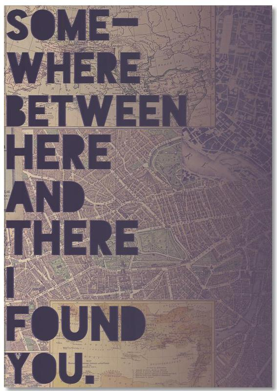 Here and There Notepad