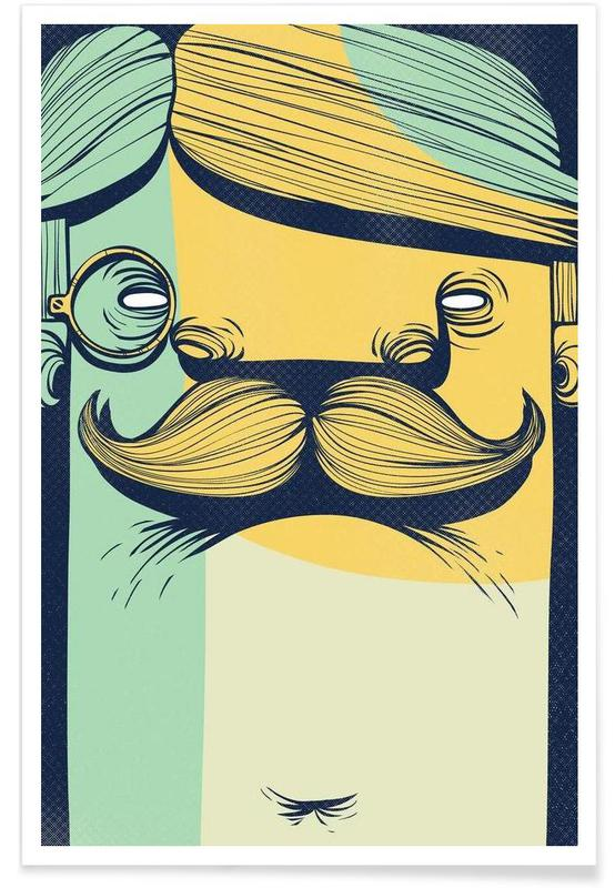 THE MUSTACHE Poster