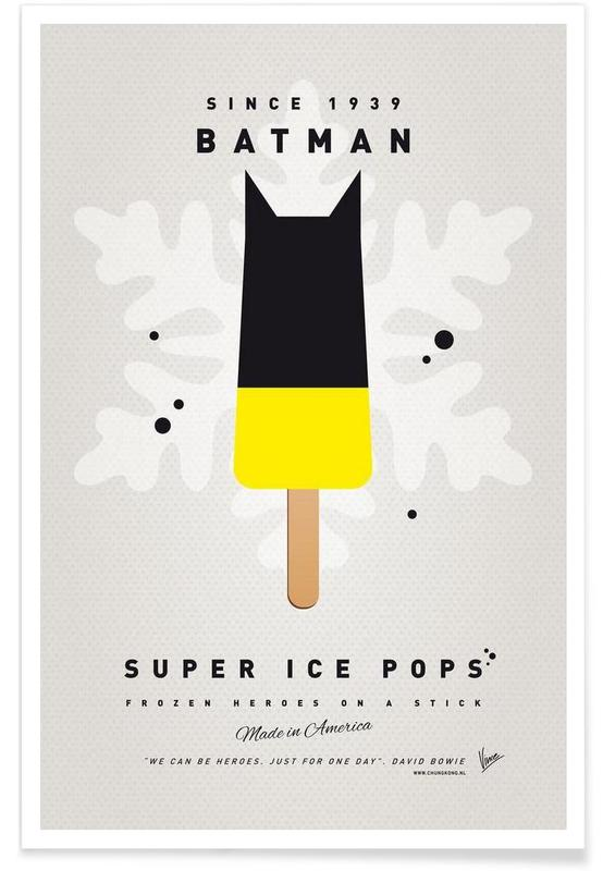 My Superhero Ice Pop - Batman poster