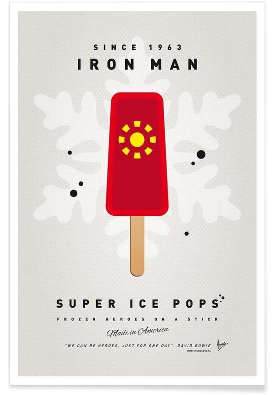 My Superhero Ice Pop - Iron Man affiche