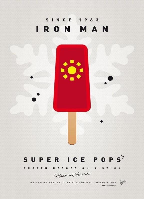 My Superhero Ice Pop - Iron Man -Leinwandbild