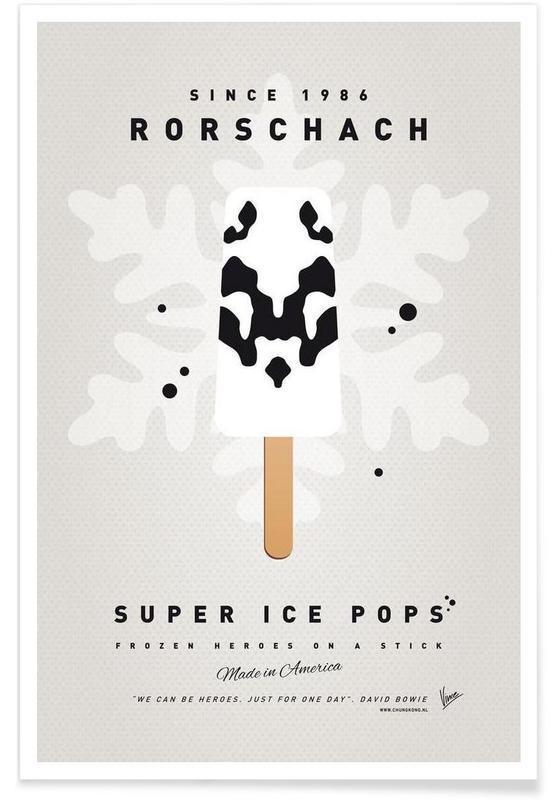Eiscreme, My Superhero Ice Pop - Rorschach -Poster