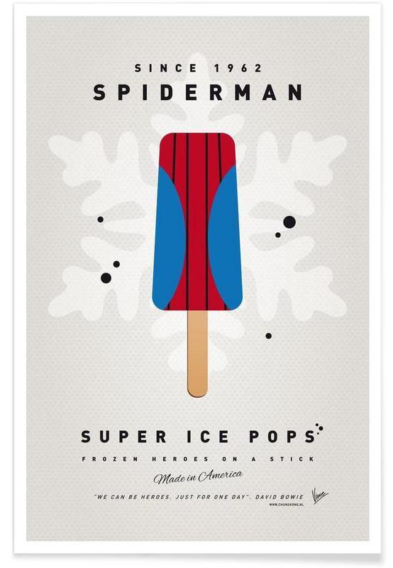 Spider-Man, Is, My Superhero Ice Pop - Spiderman Plakat