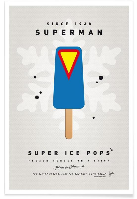 My Superhero Ice Pop - Superman -Poster