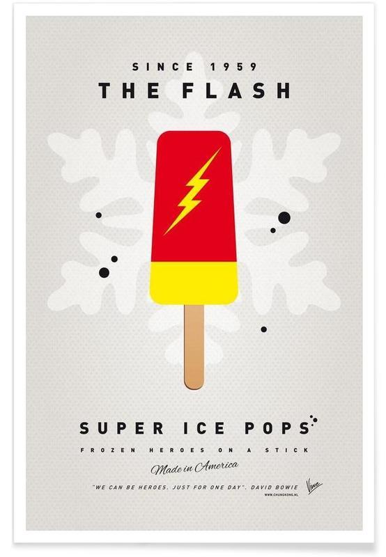 My Superhero Ice Pop - The Flash -Poster