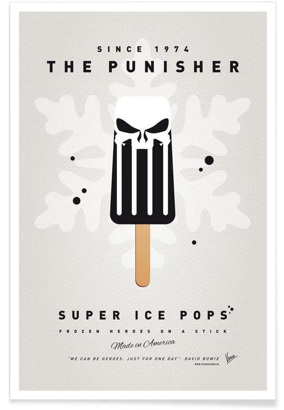 My Superhero Ice Pop - The Punisher affiche