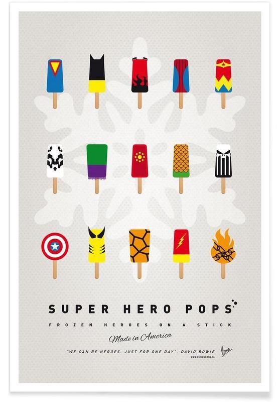 My Superhero Ice Pop - Universe -Poster