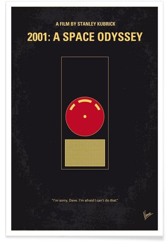 Filme, 2001 - A Space Odyssey -Poster