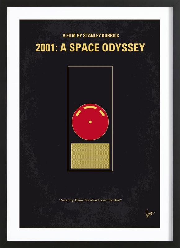 2001 - A Space Odyssey ingelijste print