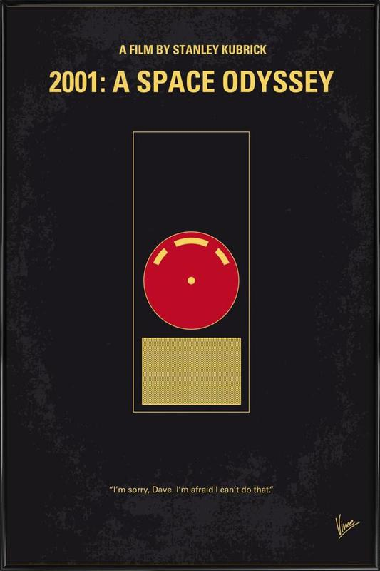 2001 - A Space Odyssey ingelijste poster