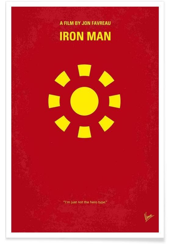 Iron Man, Films, Iron Man affiche