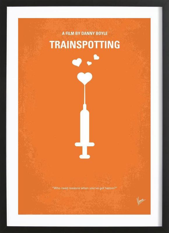 Trainspotting Framed Print