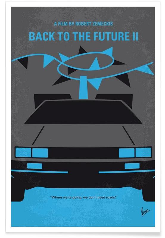 Back to the Future II affiche