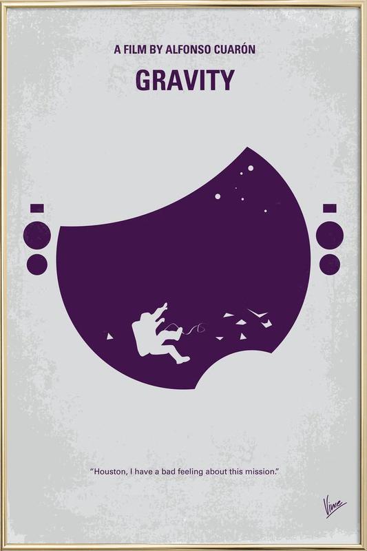 Gravity Poster in Aluminium Frame
