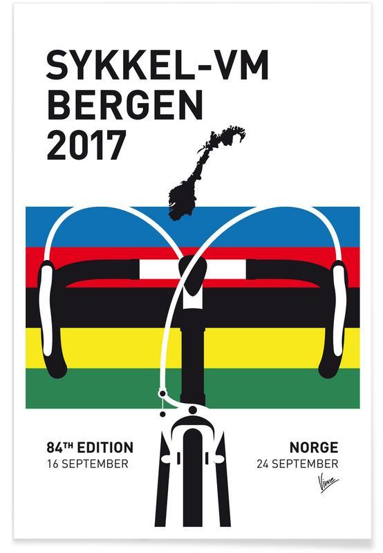 Wielersport, Road World Championship 2017 poster