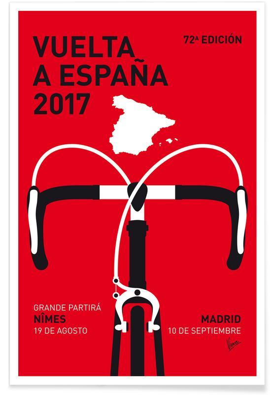 Wielersport, Vuelta a España 2017 poster