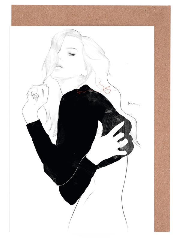 Noir & blanc, Portraits, Kelly cartes de vœux