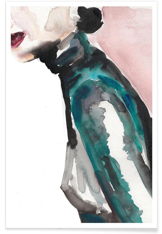 Détails corporels, Illustrations de mode, Forever Electric affiche