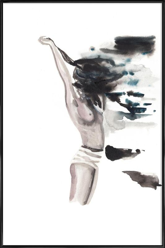 She is the High Tide Framed Poster