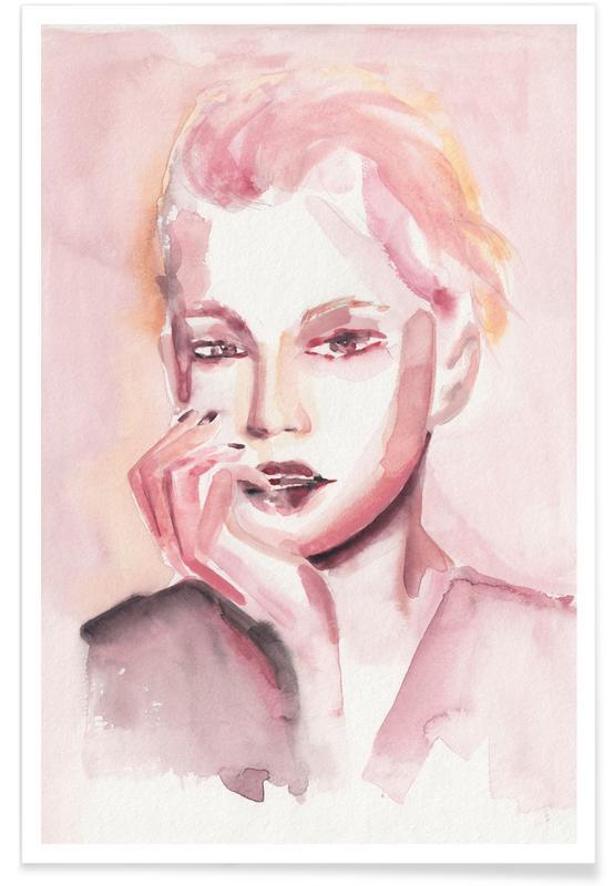 Portraits, Through Rosey Lenses Poster