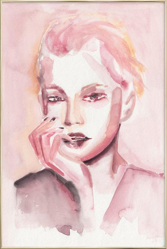 Through Rosey Lenses -Poster im Alurahmen