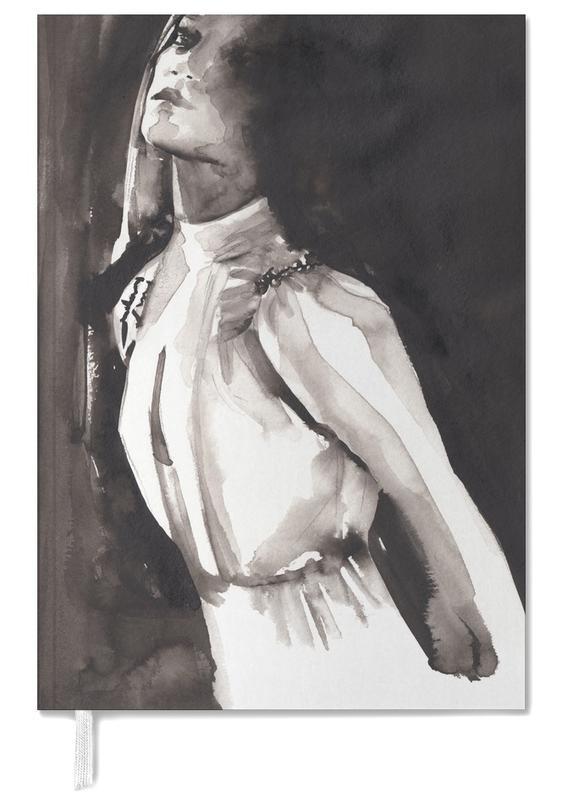 Portraits, Noir & blanc, Illustrations de mode, I Changed My Mind agenda