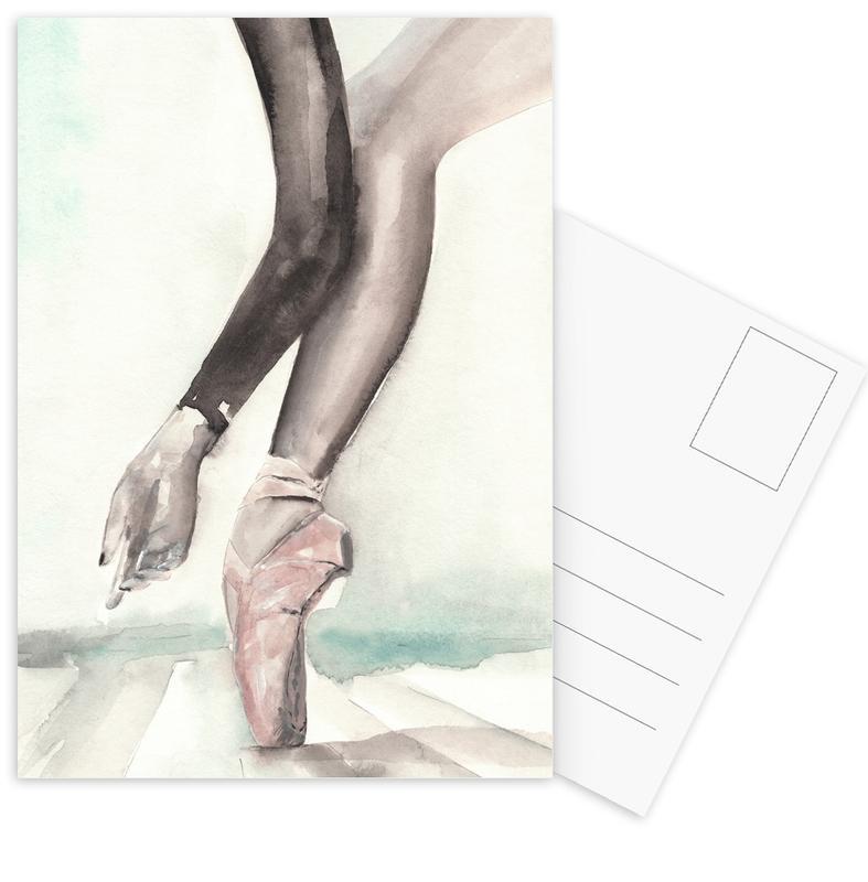 Danse, Illustrations de mode, In Black Papillon cartes postales