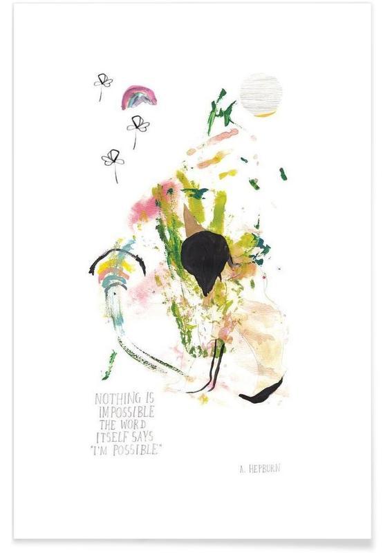 Audrey Hepburn, Motivation, Everything Possible affiche