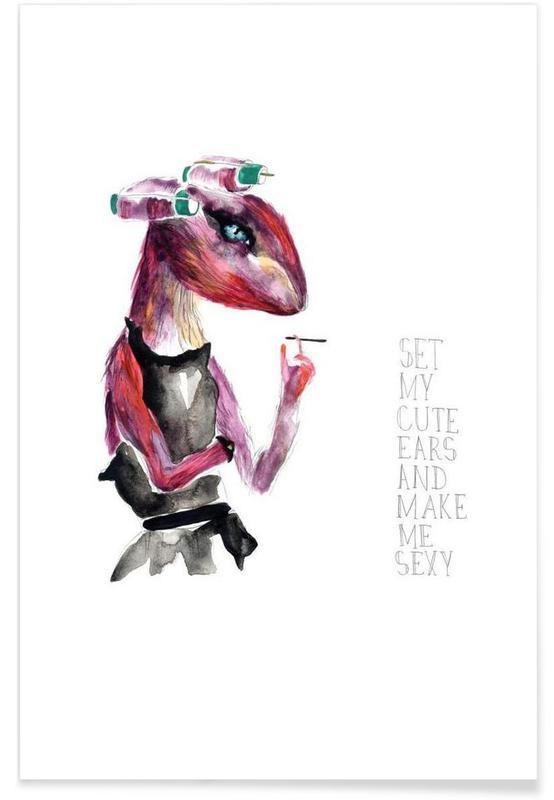 Miss Cutesy Buns -Poster