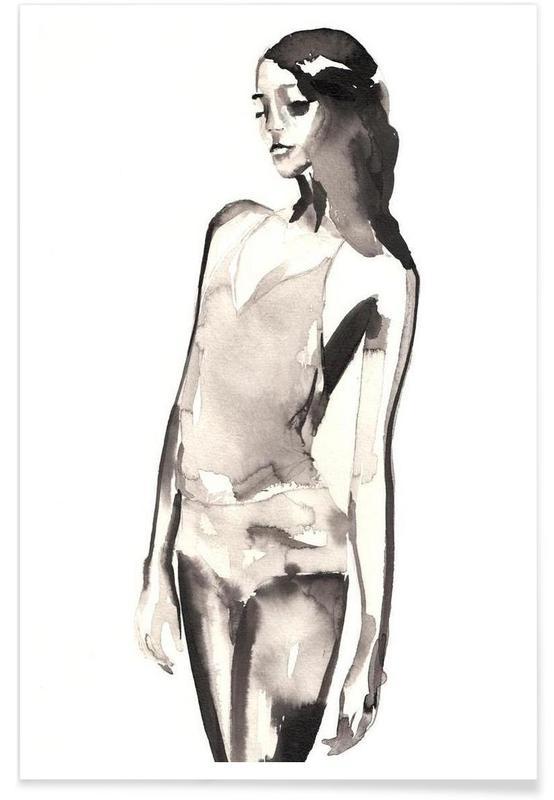 Illustrations de mode, Man Sieht affiche
