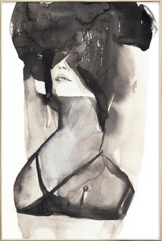 A Minikin -Poster im Alurahmen