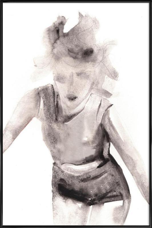 Hurt People Hurt People -Bild mit Kunststoffrahmen