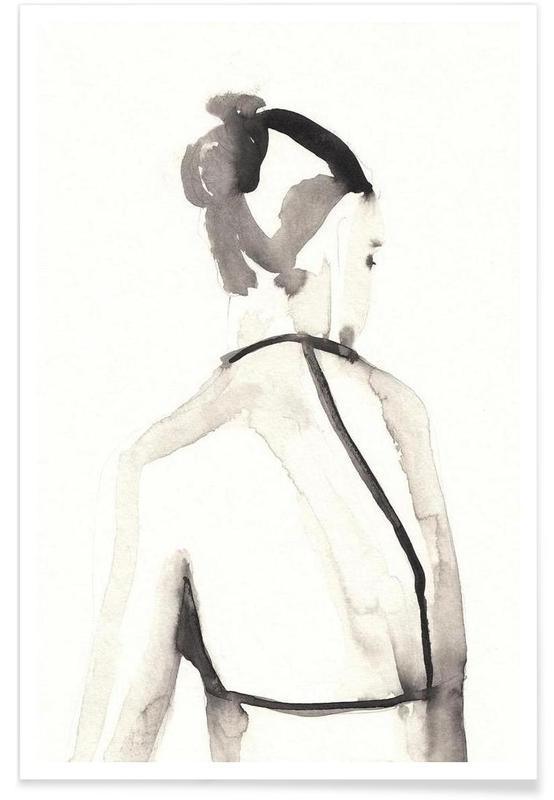 Black & White, Miss Vagabond Poster