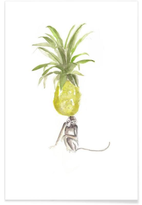 It´s Just A Pineapple Poster