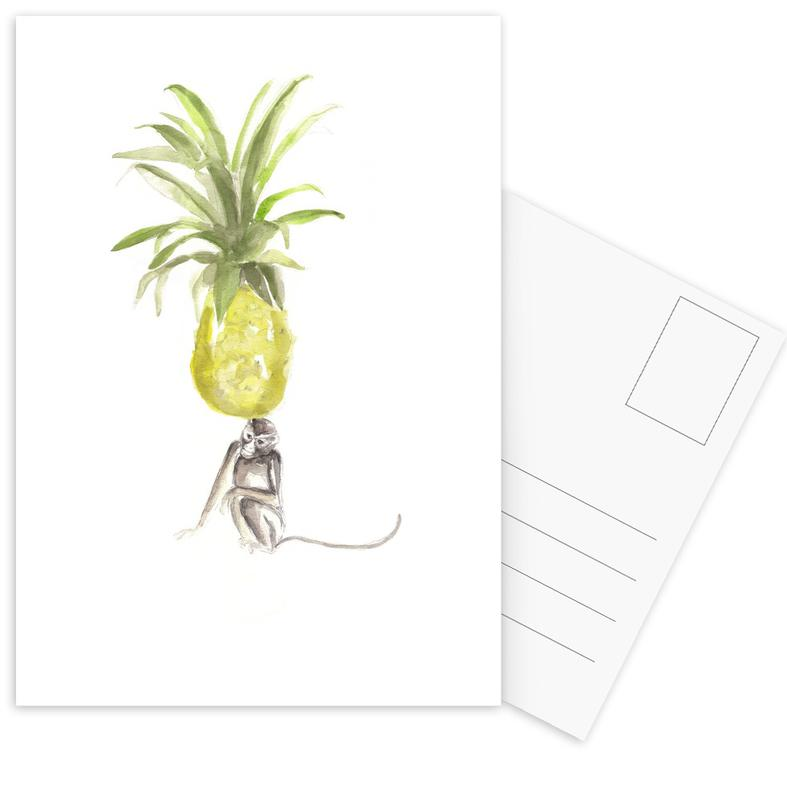 Pineapples, It´s Just A Pineapple Postcard Set