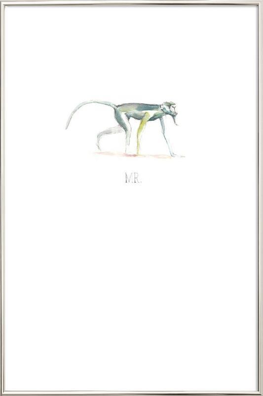Mr. Poster in Aluminium Frame