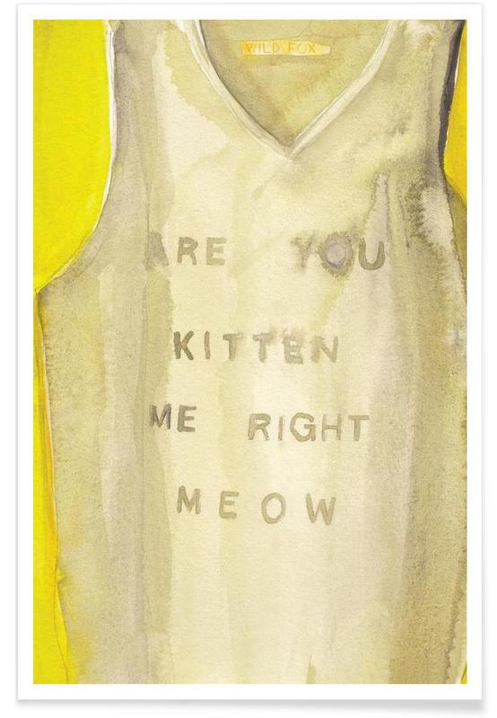 Right Meow Poster