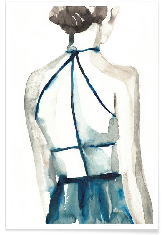 Détails corporels, Illustrations de mode, Whisky Shot affiche