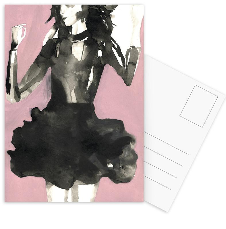Modeillustration, It's Loaded -Postkartenset