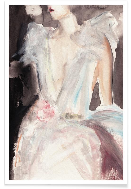 Modeillustration, Queen Quixotic -Poster